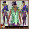 ALB MARDI GRAS - FREE costume for men by AnaLee Balut - ALB DREAM FASHION