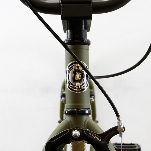DURCUS ONE H-STREET / 24inch BMX / MAT OLIVE
