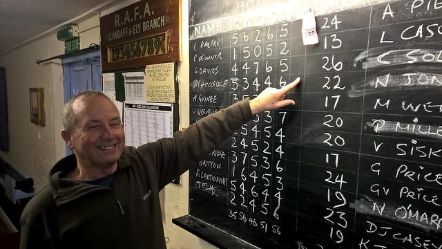 Gary celebrates his diddler win!