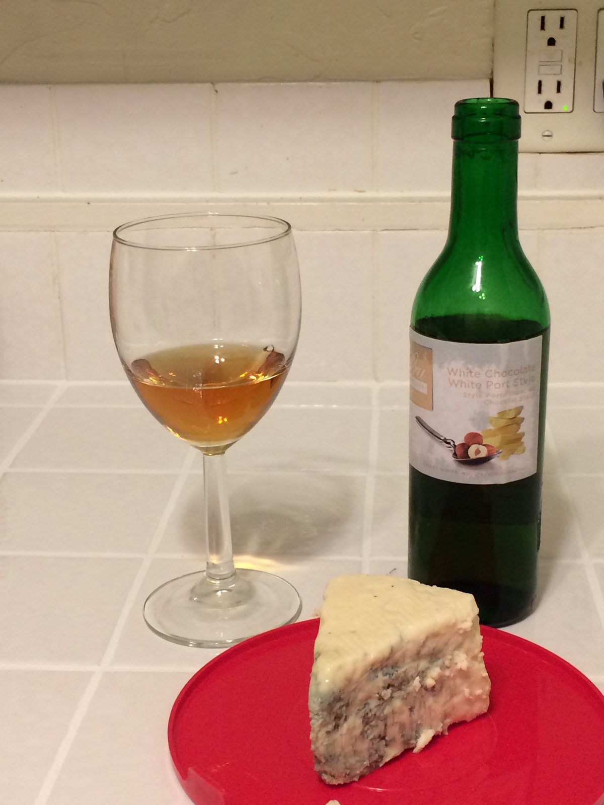 White Chocolate White Port Style and Blue Cheese 1