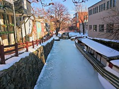 Georgetown in the snow