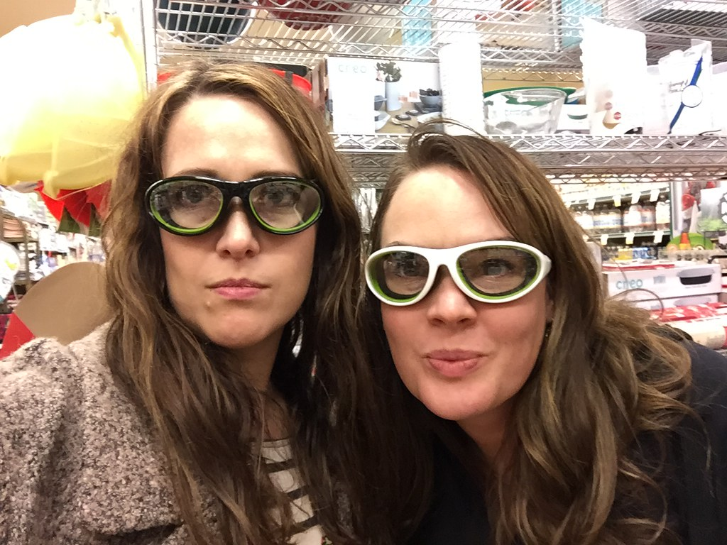 kitchen goggles....
