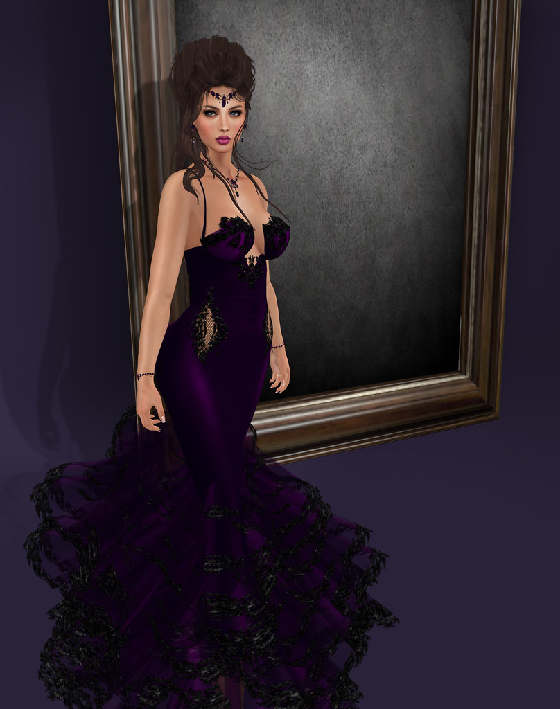 Diana gown , purple, MAAI