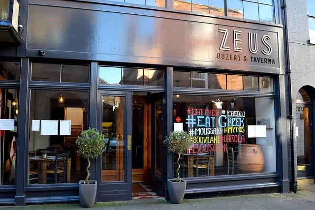 Zeus Ouzeri & Taverna, Canterbury | www.rachelphipps.com @rachelphipps