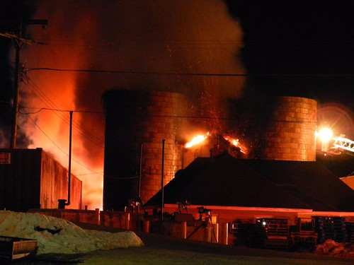Barn Fire At The Woodmont Country Club