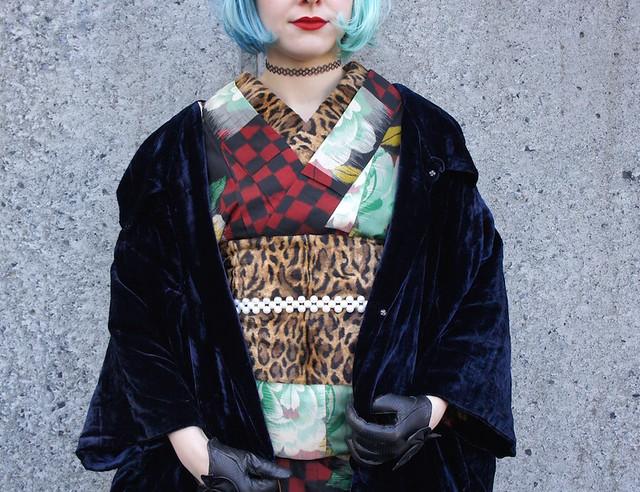 Alternative kimono