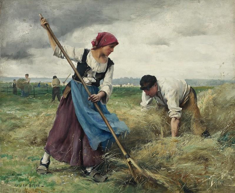 Julien Dupré - La Recolte des Foins