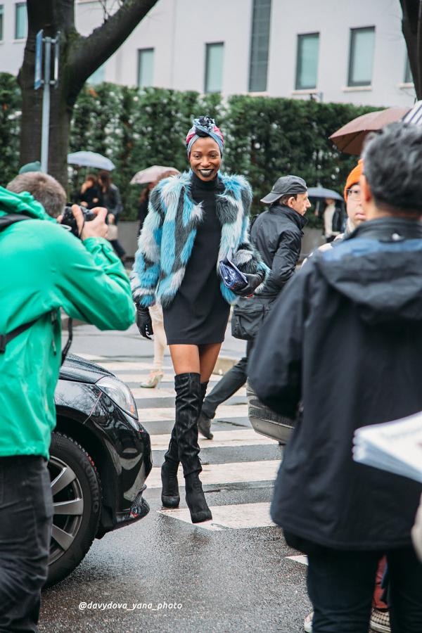 25268612522 15951cba67 o - Стритстайл недели моды в Милане: Гости Armani Show в объективе Яны Давыдовой