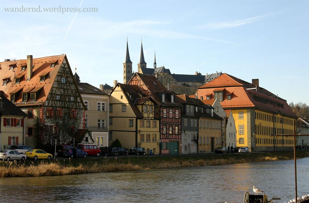 Bamberg: Blick auf die Altstadt