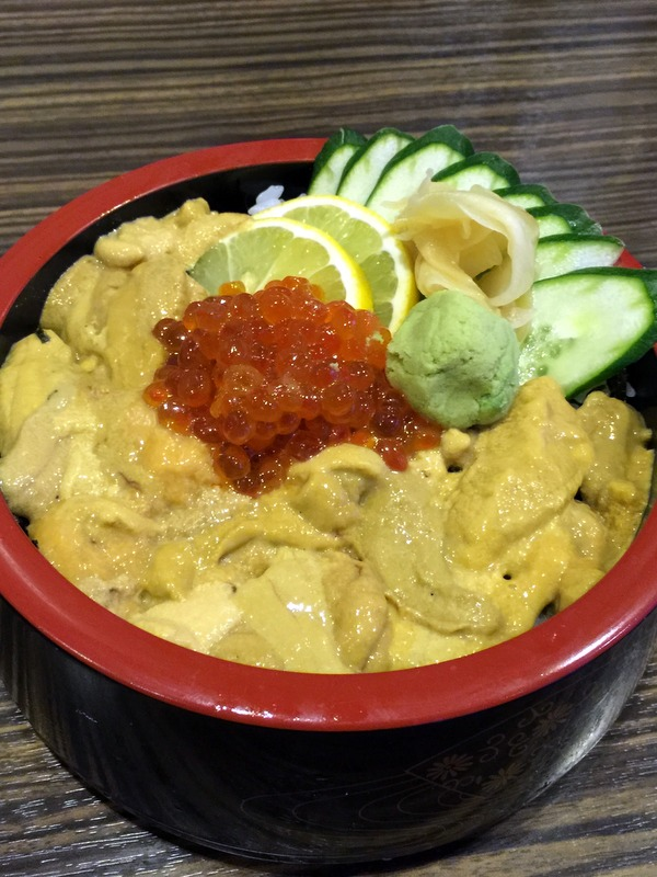 Oedo Japanese Restaurant- Ikura Uni Don P650