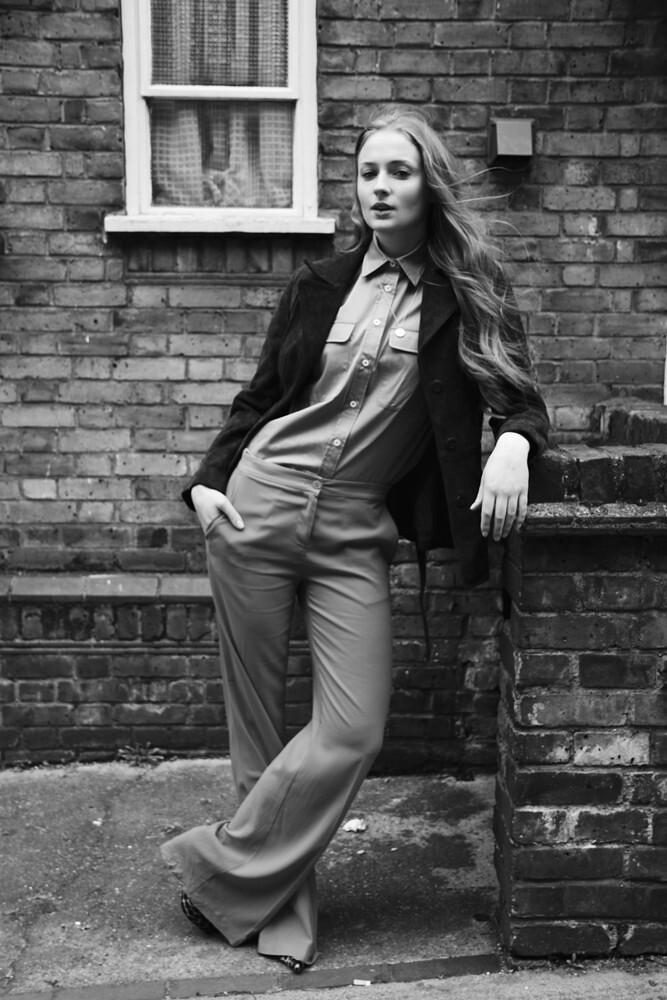 Софи Тёрнер — Фотосессия для «The Untitled» 2015 – 3