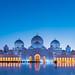 Sheikh Zayed Grand Mosque by Shutter wide shut