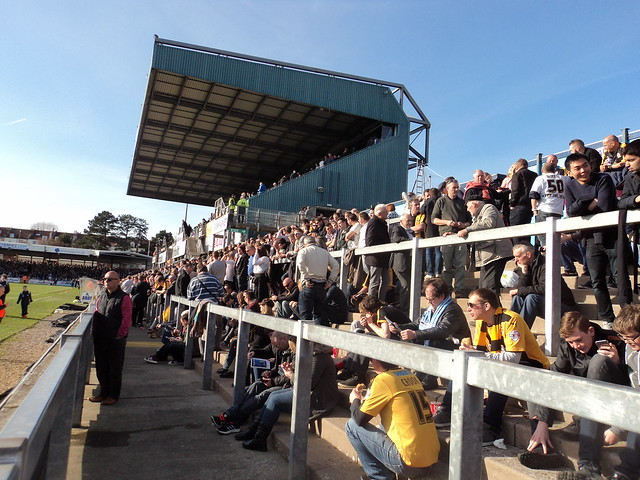 Away section at Bristol Rovers