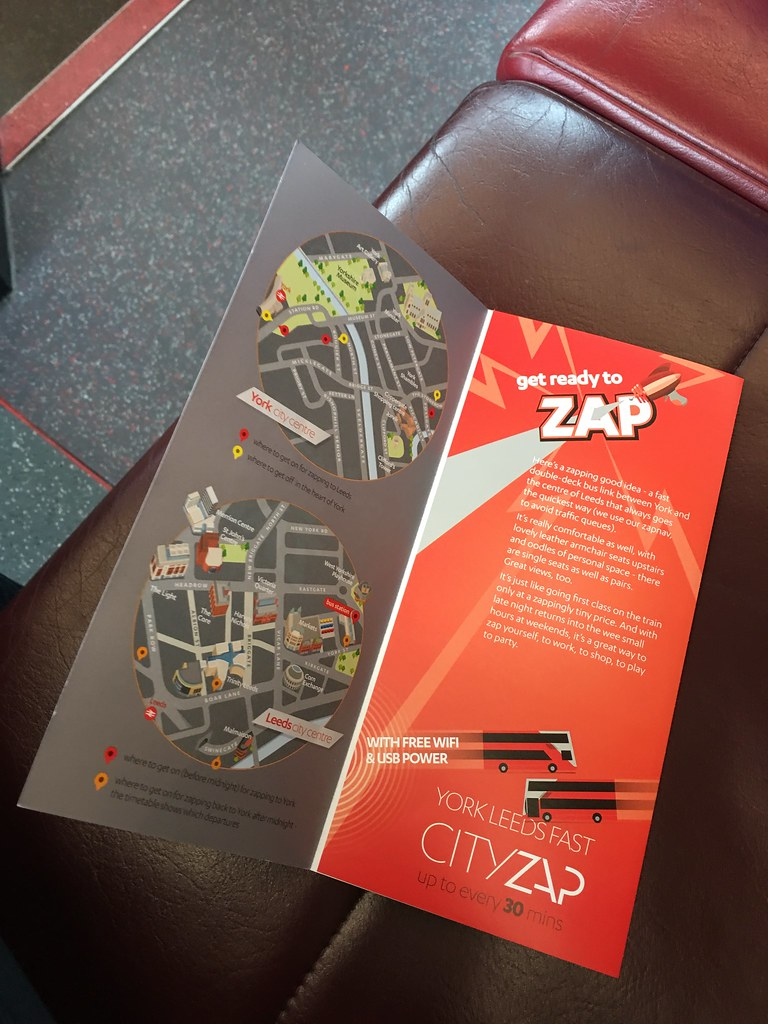 CityZap marketing collateral