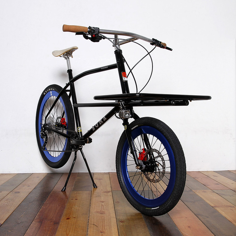 SOMA FABRICATIONS / TRADESMAN CARGO BIKE