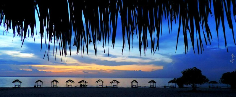Praia de Pindobal, em Belterra. Olhar do leitor. Foto - Wendell Medeiros