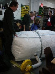 Bristol Hackspace: Richards Inflatable