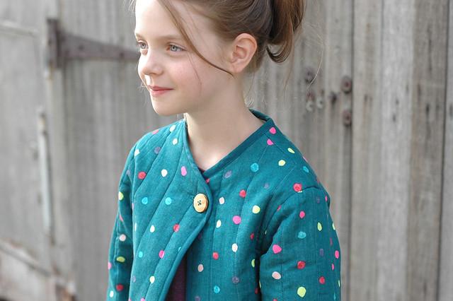 Nani Iro / mini bernadette jacket