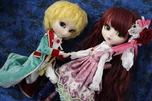 Le Petit Prince & Rose