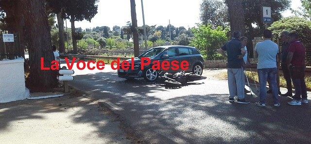 incidente polignano castellana fiume