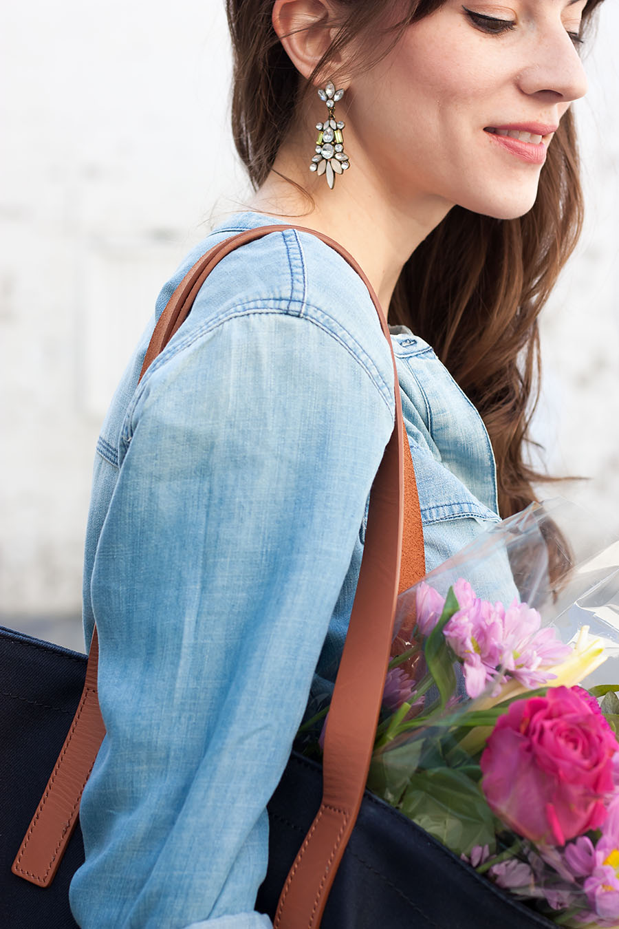 Statement Earrings, Summer Outfit
