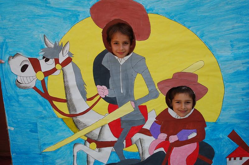 Infantil y Primaria. Photocall Don Quijote