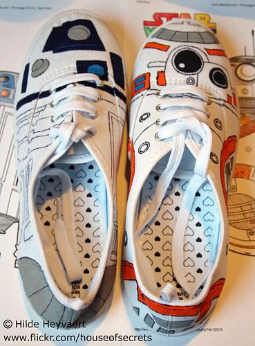 Droid sneaker mod
