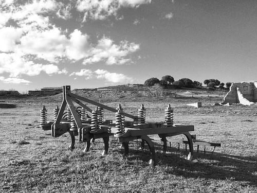 #masegosodetajuña #lasheras #spain #guadalajara #landscape #b&w