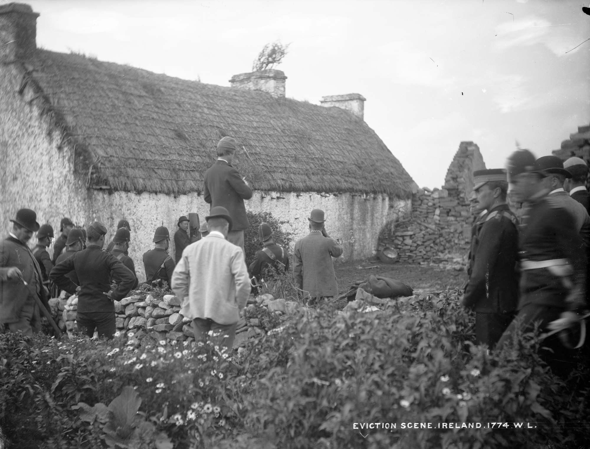 Eviction scene, Ireland