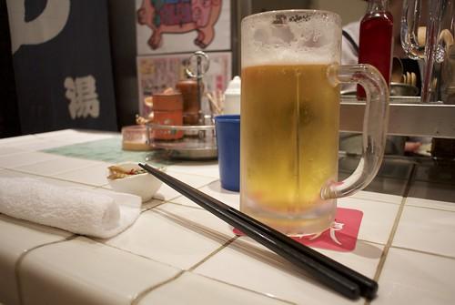 新橋豚娘ビール