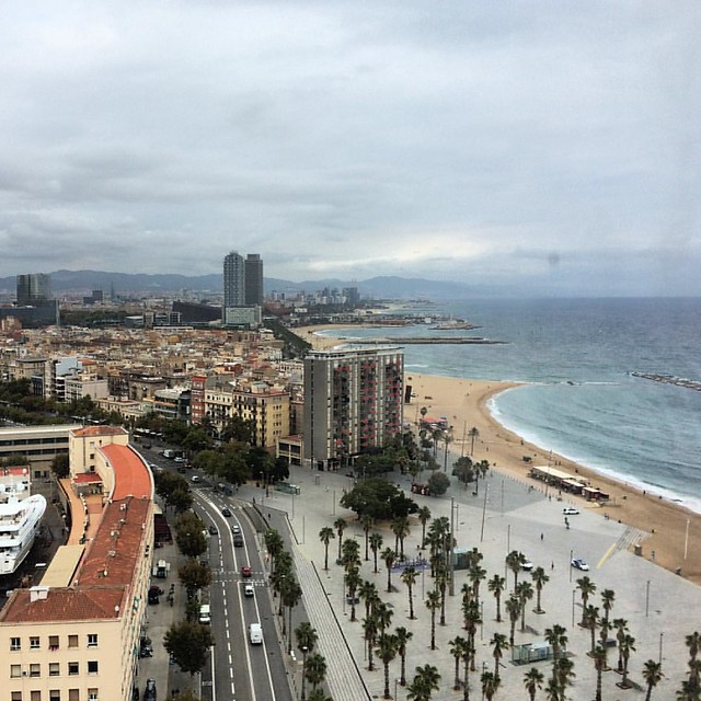 #barcelona #Spain #sea #honeyontheroad
