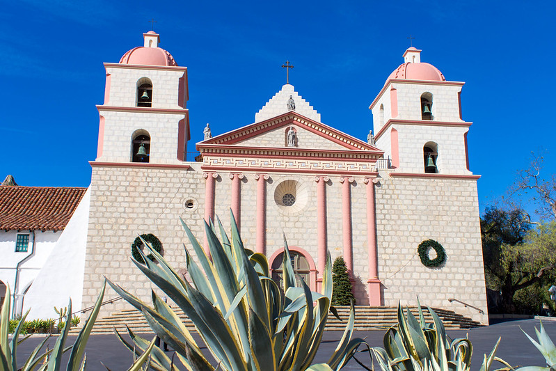 12.24. Santa Barbara. Old Mission