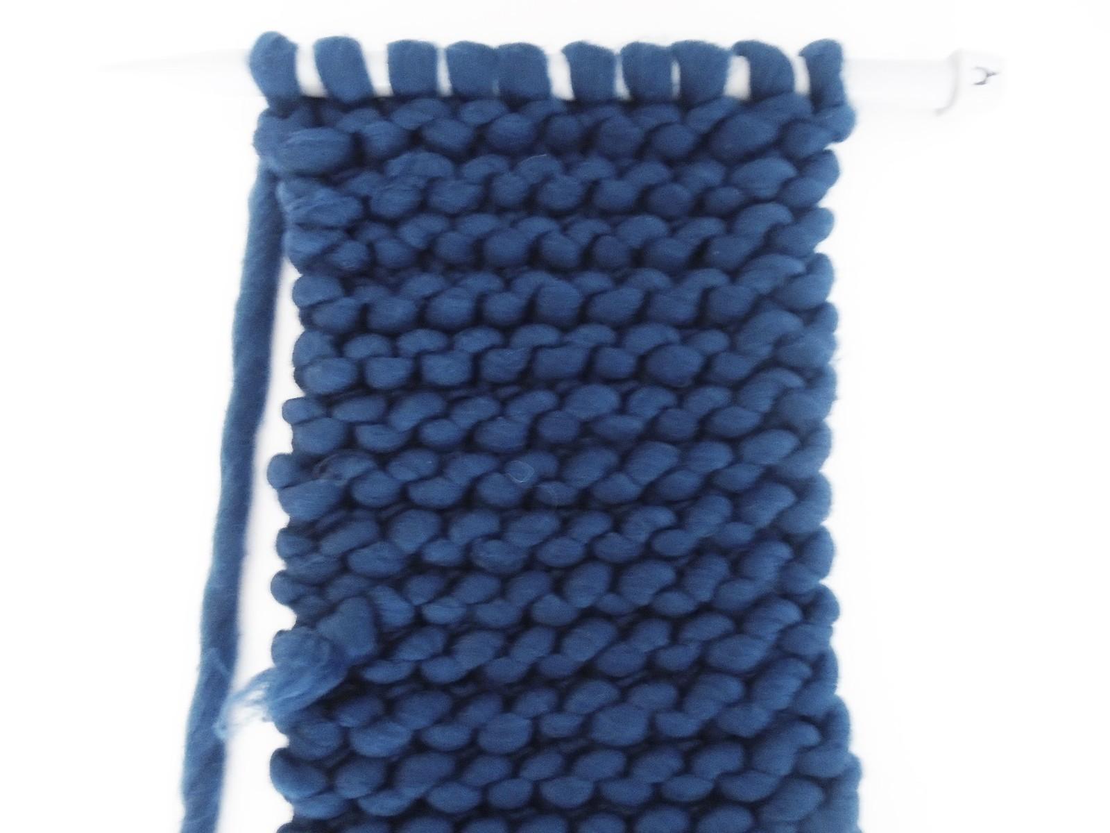 chunky knit garter stitch