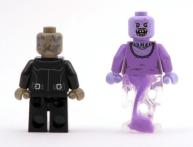 Lego Zombie Driver 75827 Black Jacket Ghostbusters Minifigure