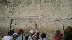 Leaving a Note at the Western Wall