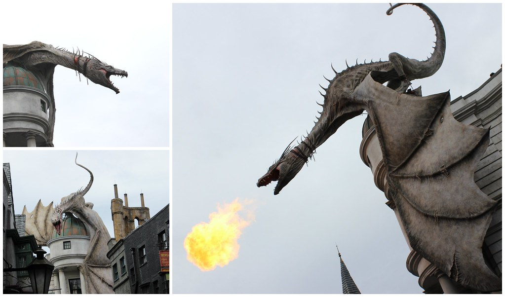 Universal Gringotts Dragon