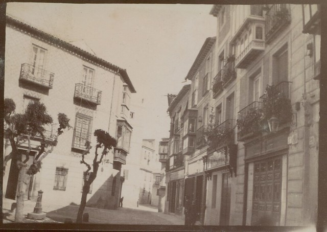 Calle de Santo Tomé en Toledo hacia 1909