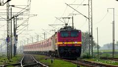 SHEER AGGRESSION WAP4 LOCO 130 KMPH ! Bhubaneswar Rajdhani Express