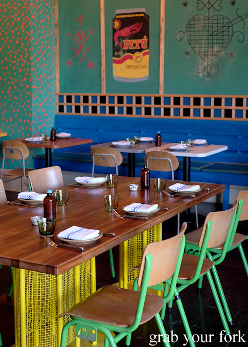 Dining room at Africola, Adelaide