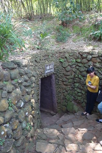 Vinh-Moc-Tunnel - Einer der Eingänge