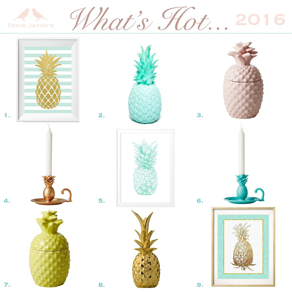 What's Hot...Pineapples