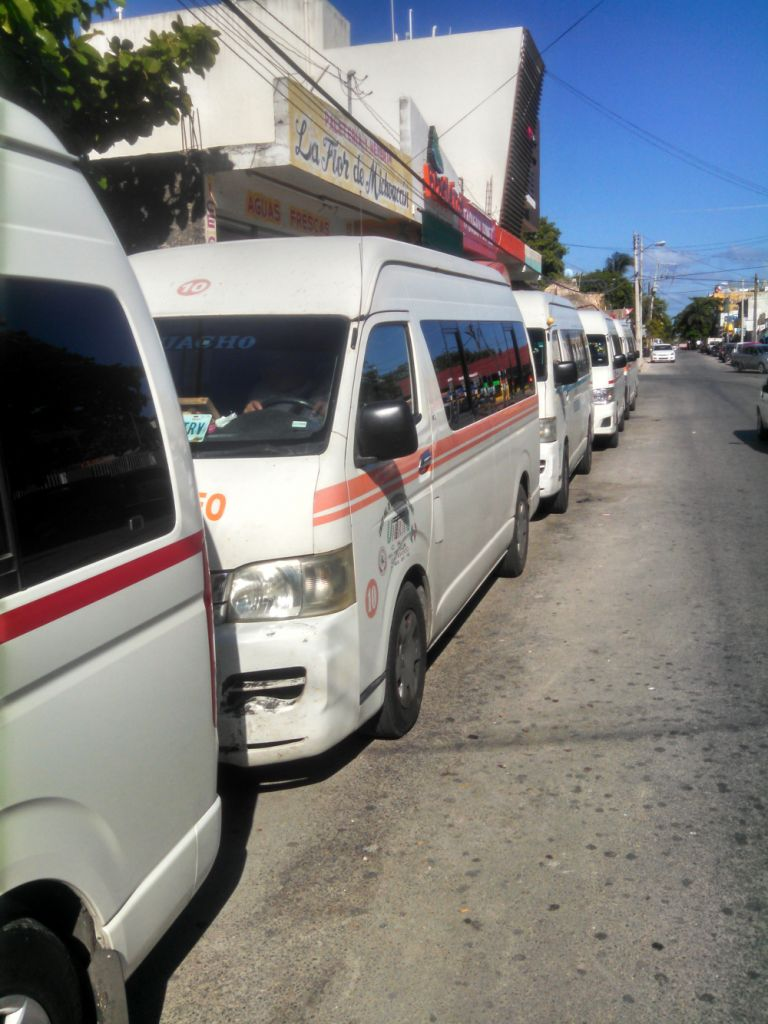 Air Conditioned Collectivo Vans