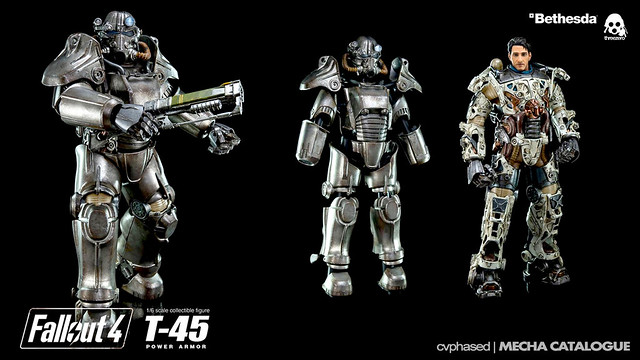 threezero - FALLOUT 4 1/6 T-45 Power Armor