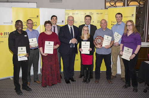 Vice-Chancellor's Awards for Health and Safety 2015