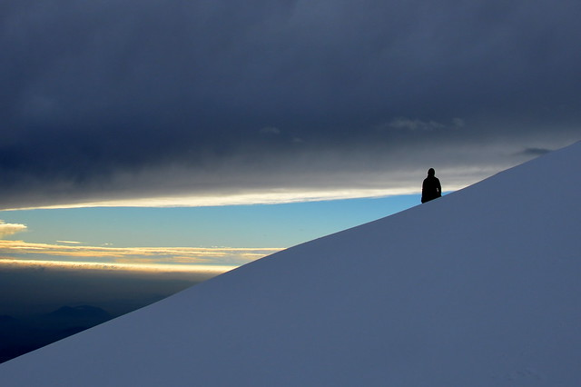 Kalški greben in Vrh Korena s Krvavca