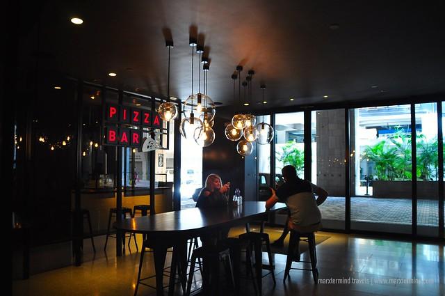 Pizza Bar at pentalounge pentahotel