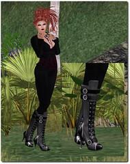 GeMyles - Cassey Steampunk boots