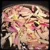 #Fajita #PepperSteak #homemade #CucinaDelloZio - sauté onions garlic & hot pep flakes