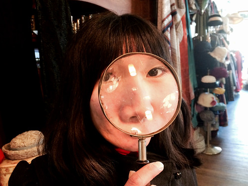 Ana's Magnifying Glass (February 13 2015)