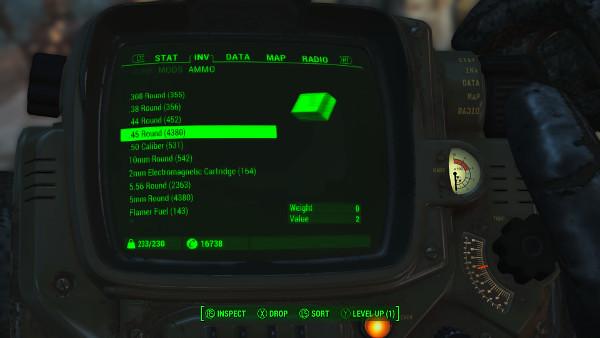 Ammo Screen